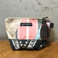 "T.K GARMENT SUPPLY ×MB7r POUCH ""PATCHWORK """