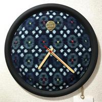 """【送料無料・サンプル】 MB7r WALL CLOCK TEAK """"1930s Kasuri"""""""