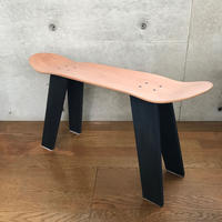 MADE BY SEVEN -REUSE- ORIGINAL SKATE DECK Wood STOOL AIZOME
