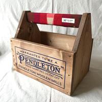 """PENDLETON×MB7r CARRYING STORAGE BOX """"BIG THUNDER SCARLET"""""""