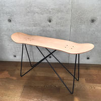 MADE BY SEVEN -REUSE- ORIGINAL SKATE DECK STOOL BLACK