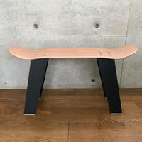 MADE BY SEVEN -REUSE- ORIGINAL SKATE DECK Wood STOOL BLACK
