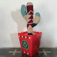 "PENDLETON×MB7r LITTLE PLANTS CACTUS ""BIG THUNDER SCARLET""①"