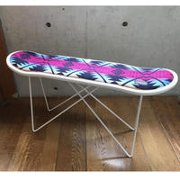 "PENDLETON×MB7r SKATE DECK STOOL WHITE ""COYOTE BUTTE NAVY"""