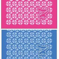 タオルハンカチ2色セット