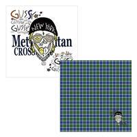 55cm角:【MCB551806】MINATSU  「GUSSY  SKULL」(メガネ拭き・めがね拭き)