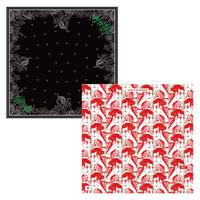 55cm角:【MCB552003】Utility x Rat Hearts x MetropolitanCROSSbottle(めがね拭き・メガネ拭き)
