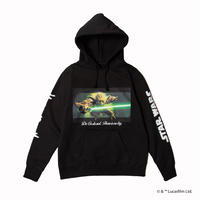 Yoda/Mighty Crown Pull over Hoodie
