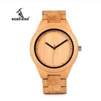 BOBO BIRD ボボバード 竹製腕時計 バンブー クォーツ ユニセックス 45mm