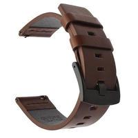 Galaxy Watch 46m レザーストラップ バンド 18/20/22/24mm Samsung Gear S3 ブラック・ブラウン