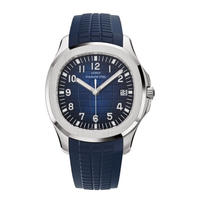 LGXIGE メンズ クォーツ腕時計 アクアノートスタイル ブラック/ブルー