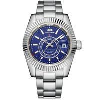 PAULAREIS メンズ 自動巻腕時計 スカイドゥエラーオマージュモデル シルバー/ゴールド