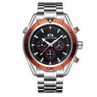 PAULAREIS P 自動巻腕時計 007 シーマスタースタイル ステンレス/ラバーバンド