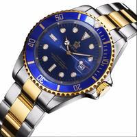 Reginald メンズ クォーツ腕時計 ステンレス カラバリ3色 3気圧防水