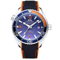 PAULAREIS P メンズ 自動巻腕時計 全7カラー 007スタイル ラバーバンド