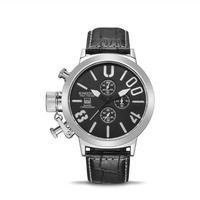 KIMSDUN クォーツ腕時計 50mmビッグダイヤル 全7カラー クロノグラフ