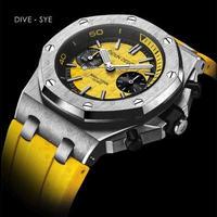 [選べる4色] DIDUN  クォーツ腕時計 クロノグラフ メンズ