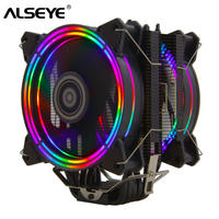 空冷CPUクーラー LGA775~1366/2011 AM2+/AM3+/AM4向け 4ピン 6ヒートパイプ