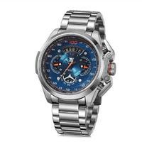 T5 メンズ クォーツ腕時計 48mm クロノグラフ ミリタリー スポーツウォッチ 全5色