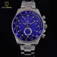 SOUTHBERG メンズ クォーツ腕時計 ヨットマスタースタイル