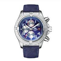 PAULAREIS P メンズ 自動巻腕時計 45mm ブラック/ブルー  panda 2
