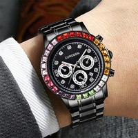 CURDDEN メンズ クォーツ腕時計 コスモグラフデイトナオマージュモデル 日本製ムーブ 全5カラー