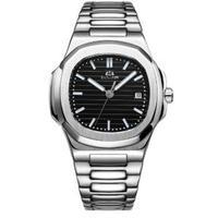 PAULAREIS P メンズ 自動巻腕時計 40mm ルミナス ステンレス ノーチラススタイル