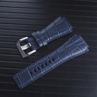 ベル&ロス BR01 BR03用 レザーバンド ストラップ 34×24mm 社外品