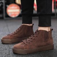 [バブアーに合う靴] メンズ レザーブーツ ブラウン カジュアルシューズ