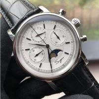 SUGESS メンズ 手巻き腕時計 1908 40mm レトロデザイン 選べる3色