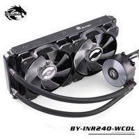 ウォータークーラーキット 240mm LGA1366/LGA1156/1151/1150/775/2011/2066 AMD対応