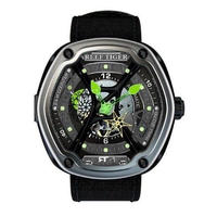 Reef tiger 機械式時計 メンズ オーロラ カラバリ3色 ダイバースタイル RGA90S7