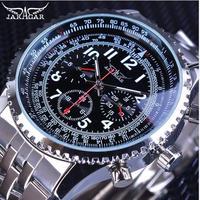 Jaragar  自動巻き 機械式腕時計 ステンレス 43mm ビッグフェイス