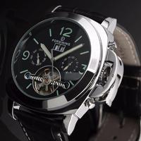 FORSINING 自動巻き腕時計 ルミノールデザイン 裏スケ ルミナスハンズ 44mm