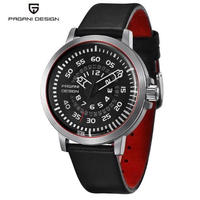 PAGANI DESIGN メンズ クォーツ腕時計 デザインカレンダー   ダイヤル・バンドカラー選択可能
