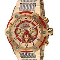 Invicta インビクタ メンズ腕時計 マーベル アイアンマン クォーツ ステンレススチールケース