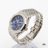 DIDUN DESIGN 自動巻き 機械式腕時計 メンズ ムーンフェイズスタイル ステンレス