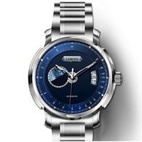 LOBINNI メンズ 自動巻腕時計 タキメーター サファイアクリスタル風防 ミヨタムーブ搭載