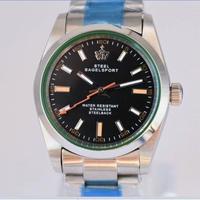 SteelBagelsport 自動巻き 機械式腕時計 ステンレス 36mm カラバリ6色