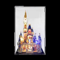 [レゴを飾るケース] ディズニーシンデレラ城 71040向け ディスプレイケース ほこり対策
