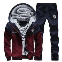 メンズ セットアップ スウェットシャツ/スウェットパンツ トラックスーツ レッド