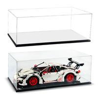 [レゴ (LEGO)を飾るケース] 42056 42096 42083 ポルシェ 911 GT3 RS 911 RSR ブガッティ シロン用 アクリルディスプレイケース