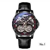 AILANG メンズ 自動巻腕時計 全9カラー 42mm ロジェデュブイ等がお好きな方に