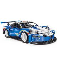 ポルシェ 911 レーシングカー ビルディングブロックキット 箱なし