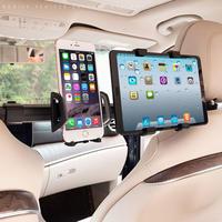 後部座席用タブレットホルダー  真ん中 2in1モデル iPhone・iPad対応 ヘッドレスト 360度回転