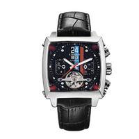 KIMSDUN メンズ 自動巻腕時計 スクエアタイプ 全4カラー モータースポーツ