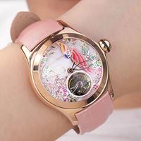 REEF TIGER リーフタイガー レディース腕時計 自動巻機械式 選べる8カラー