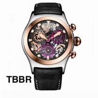 REEF TIGER クォーツ 腕時計 スケルトン クロノグラフ RGA792 カラバリ11~20