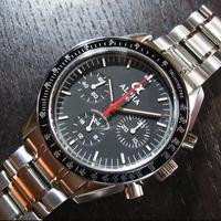 ALPHA アルファ クロノグラフ 手巻き腕時計 スピードマスタームーンウォッチスタイル SEAGULL SG2903