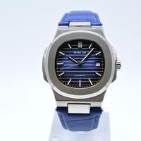 PETER LEE 自動巻き 機械式腕時計 メンズ レザーストラップ 5色展開
